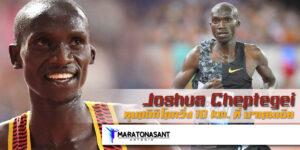 Joshua Cheptegei ทุบสถิติโลกวิ่ง 10 km. ที่ บาเลนเซีย