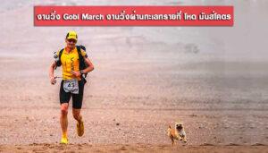 งานวิ่ง Gobi March งานวิ่งผ่านทะเลทรายที่ โหด มันส์โคตร
