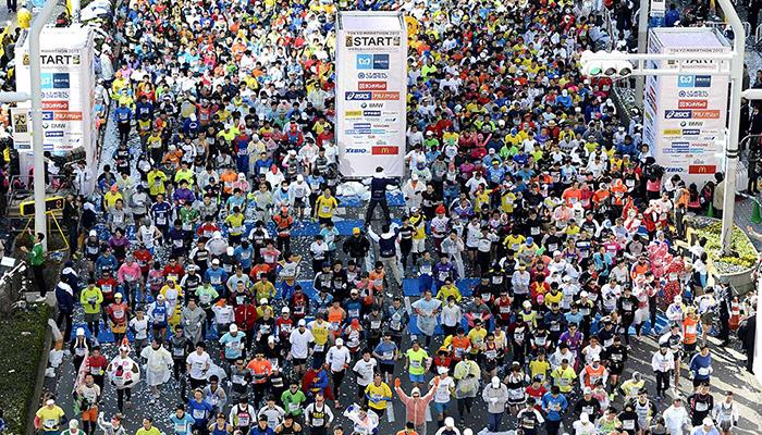 งานวิ่ง Tokyo Marathon งานวิ่งที่หลายคนไฝ่ฝัน