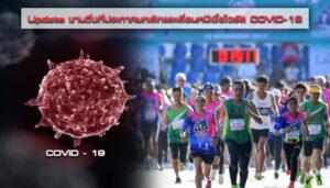 Update งานวิ่งที่ประกาศยกเลิกและเลื่อนหนีเชื้อไวรัส COVID-19
