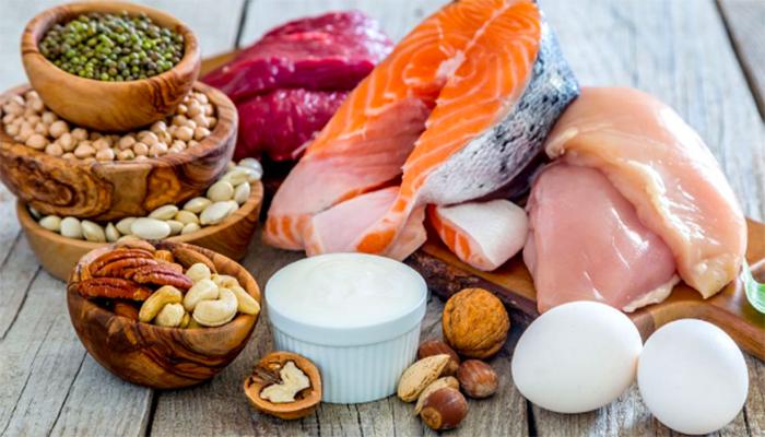 4 อาหารเพื่อการสร้างกล้ามเนื้อ